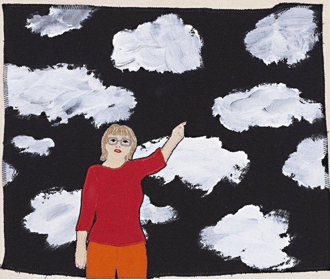Head in the Clouds 2 by Adrienne Doig contemporary artwork