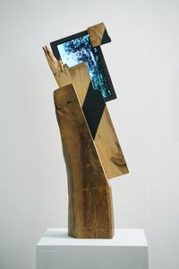 Walk through the wind by Guem MinJeong contemporary artwork sculpture, print, moving image