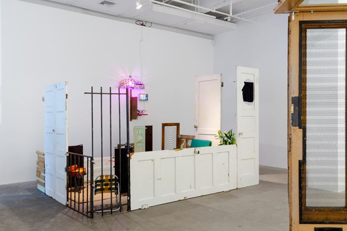 Exhibition view: Group Exhibition, Noplace, P.P.O.W. Gallery, New York (13 July–14 August 2020). Courtesy P.P.O.W. Gallery.