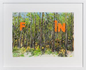 Fin by Callum Morton contemporary artwork