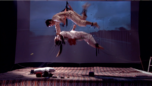 Static Electricity of Cat's Cradle by Koo Donghee contemporary artwork moving image