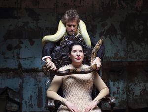 7 Deaths of Maria Callas by Marina Abramović contemporary artwork installation, moving image, performance