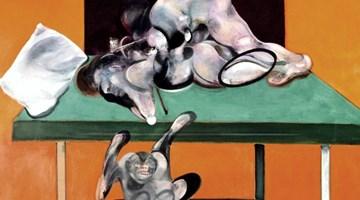 Contemporary art exhibition, Francis Bacon, Couplings at Gagosian, Grosvenor Hill, London