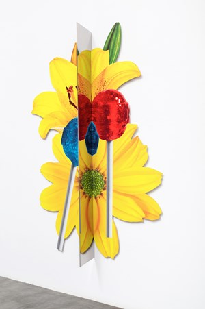 Yellow Pop by Kathryn Andrews contemporary artwork