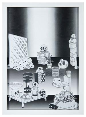 Hard Boiled Daydream ( Collage Roman ) #4 水煮白日夢(羅馬拼貼)#4 by Teppei Kaneuji contemporary artwork