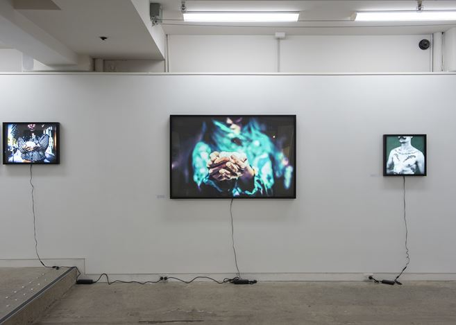 Exhibition view: Stuart Robertson, Light, Page Blackie Gallery (25 October–24 November 2018). Courtesy Page Blackie Gallery.