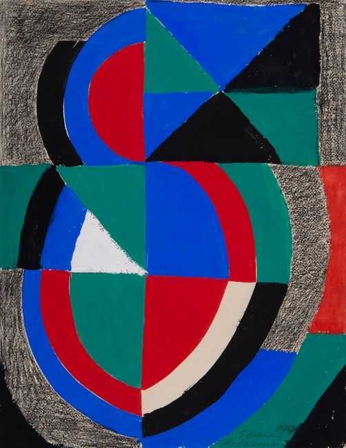 Rythme couleur by Sonia Delaunay contemporary artwork