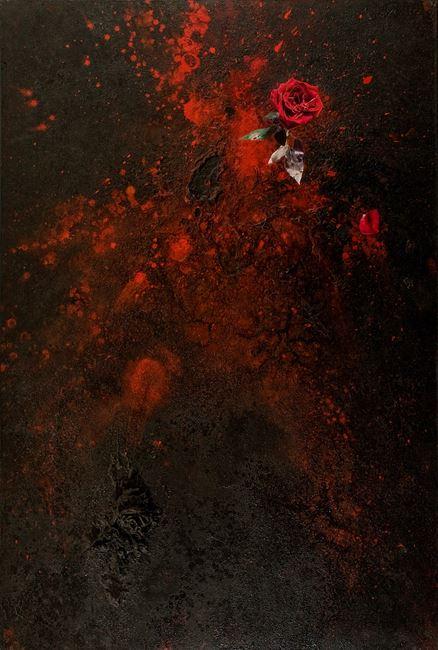 Fire 火 by Szeto Keung contemporary artwork