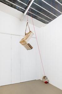 Untitled portable sculpture (La Señora de Las Nueces) 9 by Abraham Cruzvillegas contemporary artwork sculpture