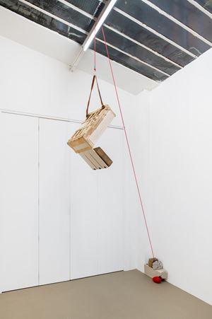 Untitled portable sculpture (La Señora de Las Nueces) 9 by Abraham Cruzvillegas contemporary artwork