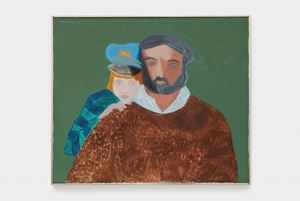 Father + Son (II) by March Avery contemporary artwork painting