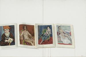 Women of Matisse's by Chen Danqing contemporary artwork