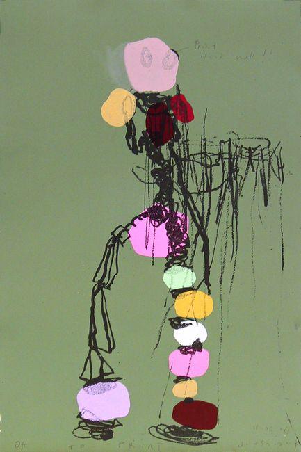 Saturday Night Fever by Bernard Quesniaux contemporary artwork