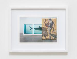H.D.N.R.I.B.I.R. (Hirst/von Stuck) by Max Frisinger contemporary artwork
