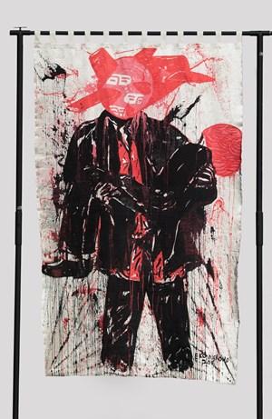 After Pieta by Eko Nugroho contemporary artwork
