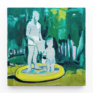 Paddling Pool by Kate Gottgens contemporary artwork