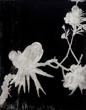 Flowers and Birds Exercise 花鳥習作 by Su Meng-hung contemporary artwork