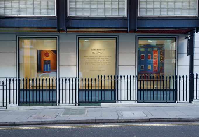 Group Exhibition, House Work, 2017, Exhibition view at Victoria Miro Gallery Mayfair. Courtesy the Artists and Victoria Miro. © the Artists.