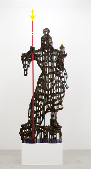 Vaisravana by Yuji Honbori contemporary artwork