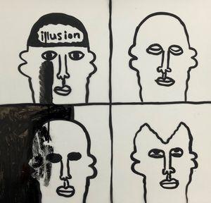 Illusion by Rae Sim contemporary artwork