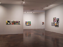 Installation video of Choi Wook-kyung: American Years 1960s - 1970s at Kukje Gallery