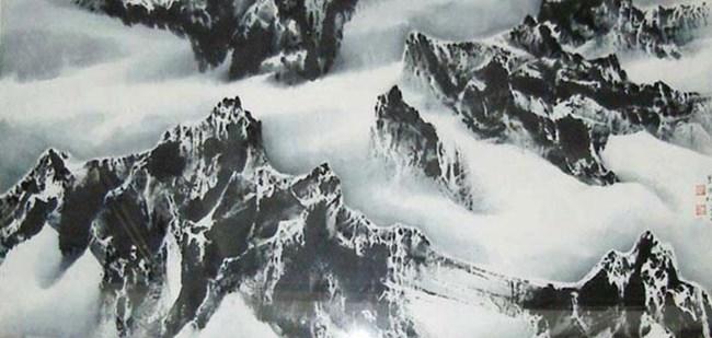 Universe is My Heart No.19 by Liu Guosong contemporary artwork