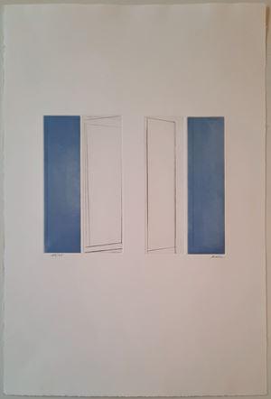 """Rythme"" by Geneviève Asse contemporary artwork"