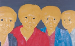 No.1 Xiao Hong and Her Friends No.1 by Shen Xiaotong contemporary artwork