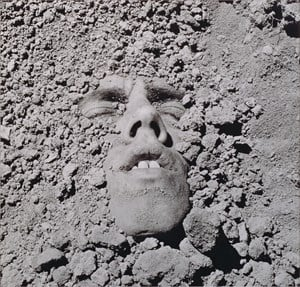 Untitled (Face in Dirt) by David Wojnarowicz contemporary artwork