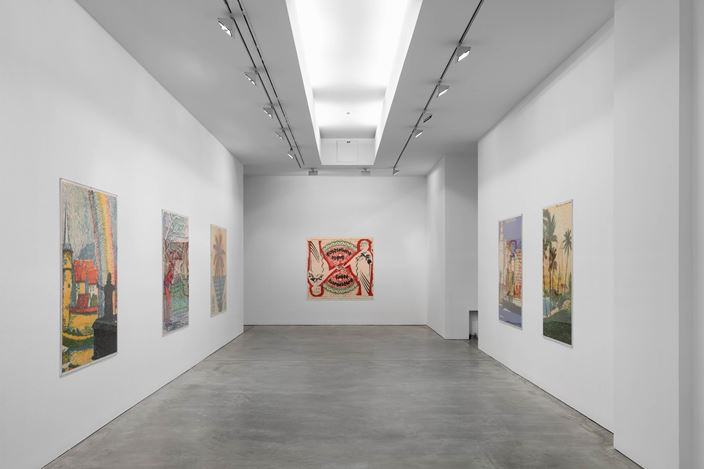 Exhibition view: Julian Irlinger, Subjects of Emergency, Galerie Thomas Schulte, Berlin (24 November 2018–12 January 2019). Courtesy Galerie Thomas Schulte. Photo: ©Poppek.