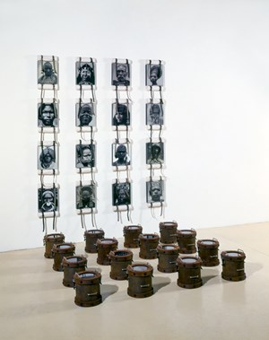Style Piece/ Head Trip II by Ashley Bickerton contemporary artwork
