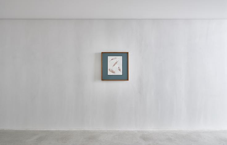 Exhibition view: Ilya and Emilia Kabakov, Unfinished Paintings, Charles Rosenthal, Axel Vervoordt Gallery, Antwerp (16 March–31 August 2019).© Ilya/Emilia Kabakov. Courtesy Axel Vervoordt Gallery.