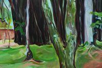 The Garden by Maria Klabin contemporary artwork painting