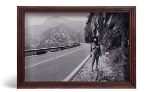 The Roadside Photographer by Cai Dongdong contemporary artwork