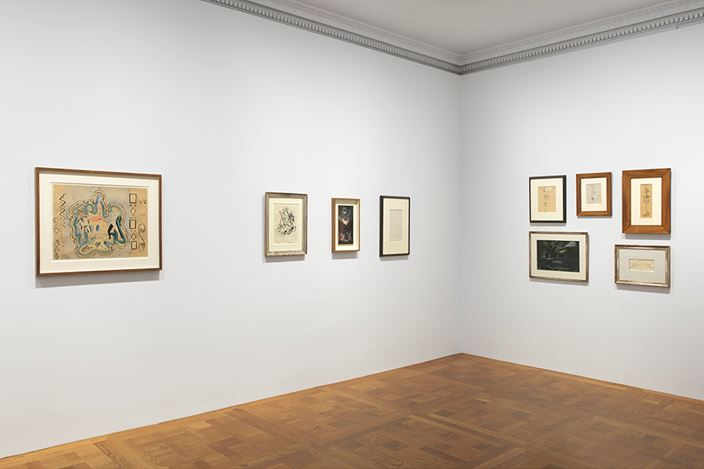 Exhibition view: Group Exhibition, A Selection of Works from Galerie 1900-2000, David Zwirner, 69th Street, New York (12 September–27 October 2018). Courtesy Galerie 1900-2000 and David Zwirner.