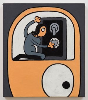 Safe Cracker by Jay Stuckey contemporary artwork painting