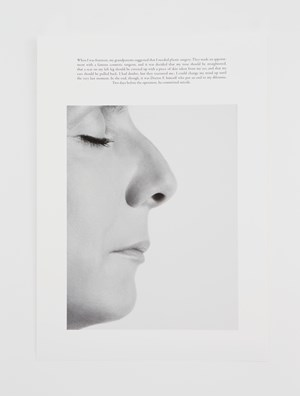 The plastic surgery (EN) * by Sophie Calle contemporary artwork