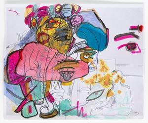 Unfinished Masterpiece Thirteen by Rachel Harrison contemporary artwork