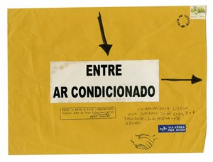 Entre Ar Condicionado by Paulo Bruscky contemporary artwork