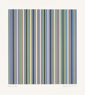 Brouillard by Bridget Riley contemporary artwork