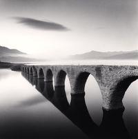 Taushubetsu Bridge, Nubakira, Hokkaido, Japan by Michael Kenna contemporary artwork photography
