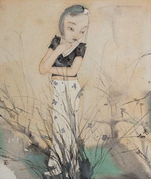 Countryside by Liu Qinghe contemporary artwork