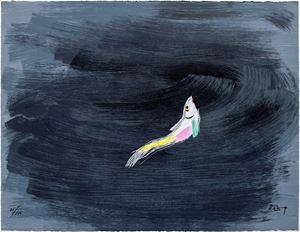 Jump 《躍》 by Wu Guan Zhong contemporary artwork
