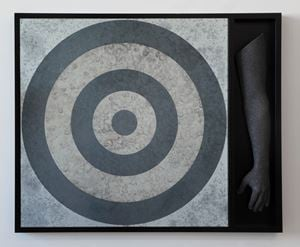 Target (with One Arm) by Hank Willis Thomas contemporary artwork