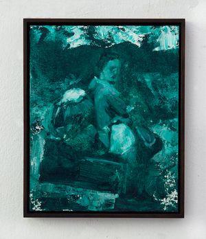 The wanderer by Helena Parada Kim contemporary artwork
