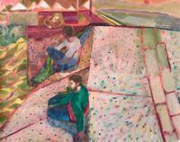 Concrete Shadows by Rebecca Harper contemporary artwork painting