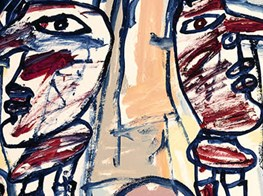 Jean Dubuffet at Hauser & Wirth Zurich — madness in the metropolis