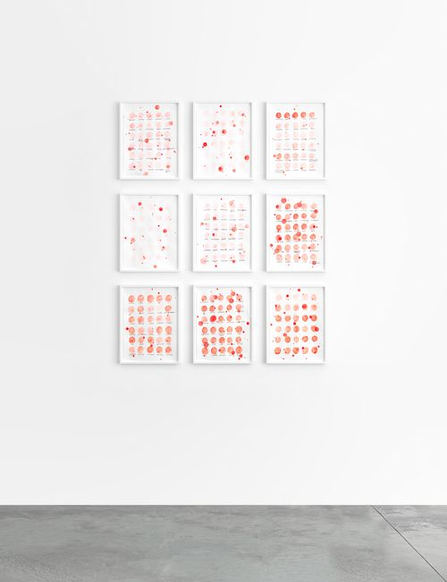 Remembered Words—(Orally) by Roni Horn contemporary artwork works on paper