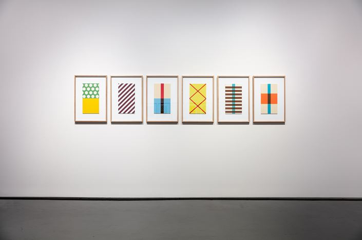 Exhibition view: Peter Atkins, The Passengers, Tolarno Galleries, Melbourne (23 March–27 April 2019). Courtesy Tolarno Galleries.