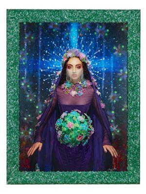 Notre Dame du Corona (Clara Benador) by Pierre et Gilles contemporary artwork